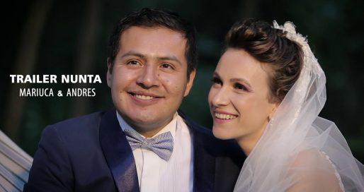 trailer nunta mariuca si andres